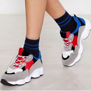 Nasty Gal Chunky Sneakers - 38